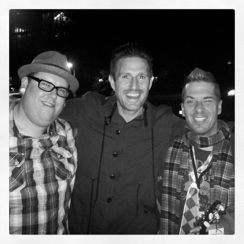 Yours truly, Wil Anderson and Greg Behrendt
